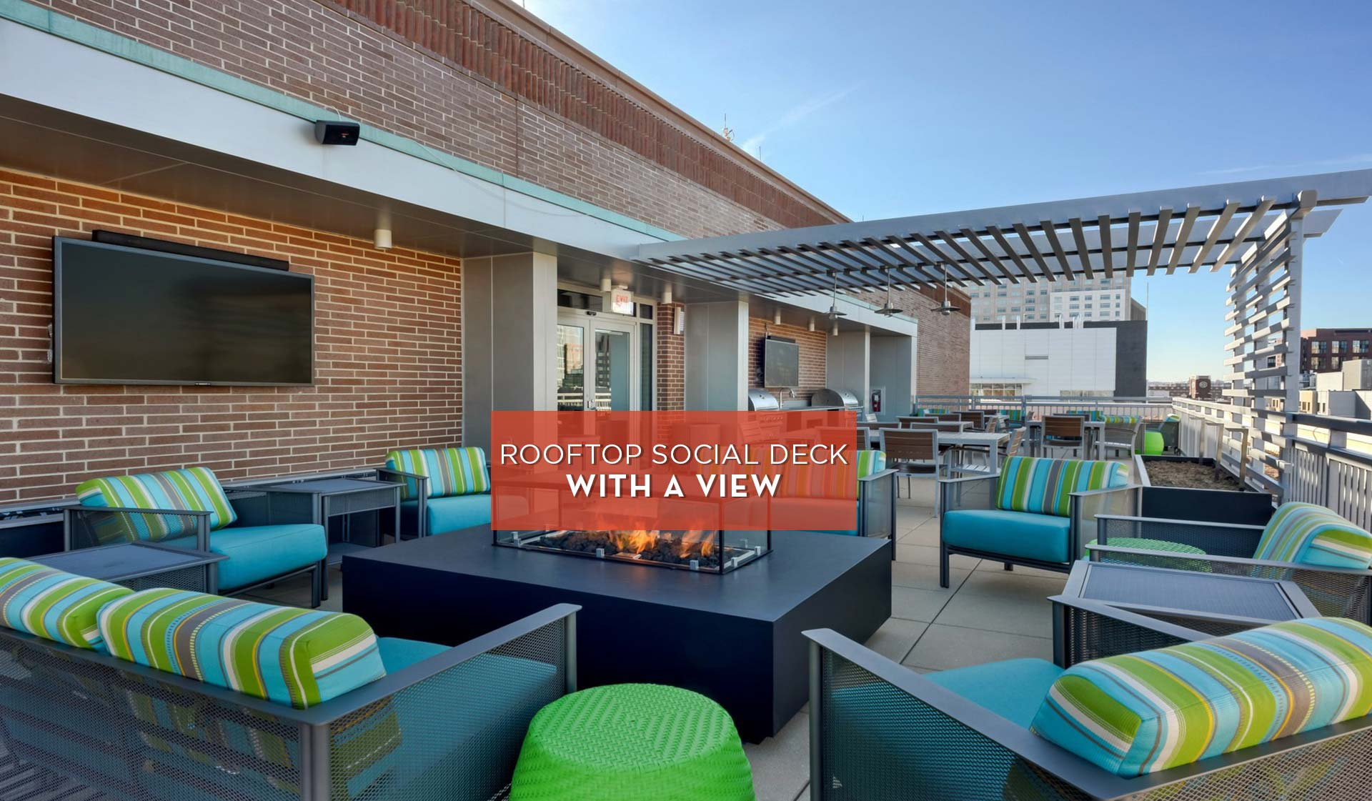 Vivo Apartment Homes | Rooftop